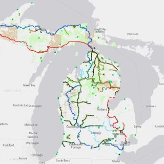 New interactive DNR map helps users find 4,600 miles of trails