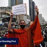 Thailand protests continue for fifth day, stretching beyond Bangkok