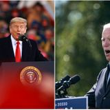 "Trump says if Biden's elected, ""he'll listen to the scientists"""