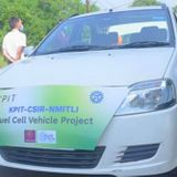 India's first hydrogen fuel cell electric hybrid car completes maiden test run in city