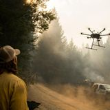 Fireball-dropping drones and the new technology helping fight fires