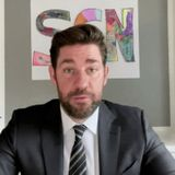 John Krasinski launches 'good news' show from his home during coronavirus, with help from Steve Carell