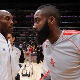 Kobe Bryant forces James Harden to box out Rockets teammate Francisco Garcia - ProBasketballTalk | NBC Sports