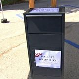 California disputed ballot boxes removed, arguing continues