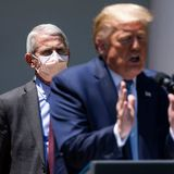 Trump says Fauci is 'a nice guy' but not 'a team player' after calling doctor 'a disaster' the day before