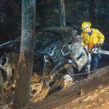 Fiery solo crash on Orinda road kills East Bay woman