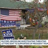 """Trump Supporters in New Hampshire Receive Letters Threatening to Burn Down Their Homes """"Should Trump Not Concede Election"""""""