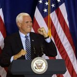 12 days out from Election Day, Mike Pence is holding a rally in deeply red Indiana. Why?