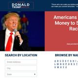 "Mysterious ""Donald Trump Watch"" Website -- With Offices in China -- Reveals Addresses of Local Trump Donors for Antifa and BLM Terrorist Targeting"