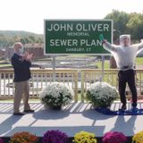 John Oliver donates to two charities after Danbury sewer plant renaming