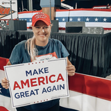 Music Publicist Says She Was Fired By Email For Attending Trump Rally