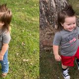Tennessee toddler vies for top prize in mullet championship