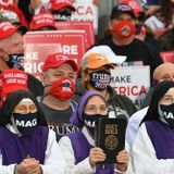 Nuns in MAGA Masks Attend Donald Trump Rally in Ohio