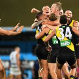 AFL grand final Richmond v Geelong blog: Tigers thump Cats by 31 points at the Gabba - ABC News