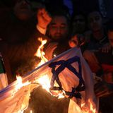 Sudanese protesters burn Israeli flag, reject normalization with Israel