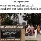 LA Times Targets John MacArthur's Church By Labeling Three COVID-19 Cases As 'Outbreak'