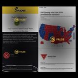 Smear Campaigns Seek to 'Red-Pill' Boomers with Fake Snopes Content