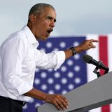 Trump is more outrageous than 'Florida Man,' Obama says at campaign stop
