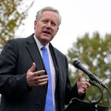 Trump breaks with Meadows, says he hasn't given up on controlling virus
