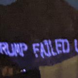 Activists project 'Trump failed us' onto Arizona mountain