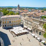 Knifeman shot dead in Avignon 'part of far-right group' & made 'nazi-salute
