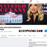 Facebook Shutters Pro-Trump Group Posing as 'Official Kayleigh McEnany Fan Page'