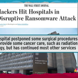 Cyberattacks On Hospitals & More Are Adding To 2020 Chaos