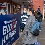 The latest batch of swing state polls shows a healthy Biden lead