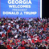 Georgia Trump rally attendees stranded waiting for buses in campaign chaos