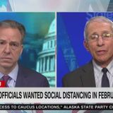"""Fauci on Trump's delayed response to coronavirus: """"It is what it is"""""""