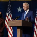Biden launches transition website as Trump claims victory in key battleground states