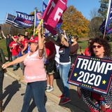 'We demand a recount in Jesus' name:' RI Trump supporters hold rally