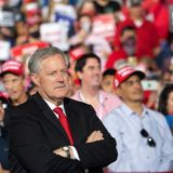 WH chief of staff Mark Meadows tests positive for COVID after attending Trump election night party with hundreds of others
