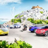 Volkswagen & Greece Bringing Climate Neutral Mobility To A Mediterranean Island