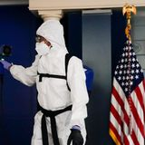 How to clean a Covid-19 infested White House for the next resident