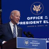Joe Biden's popular vote share is third largest by presidential challenger in election history