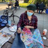 A Wednesday of art with Hospitality House's Art in the Park - Mission Local