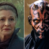George Lucas' 'Star Wars' Sequel Trilogy Made Leia 'the Chosen One' and Darth Maul the Villain