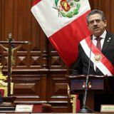 Peru's interim president resigns after massive protests