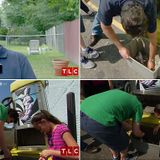 Extreme Cheapskate dad makes his children scour vacuum bins for change