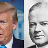 Trump surpasses even Hoover at mismanagement and the coronavirus fallout proves it