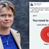 Test and Trace chief Dido Harding ordered to self-isolate by coronavirus app