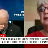 Minnesota ICU nurse brings Biden to tears during COVID-19 conference call
