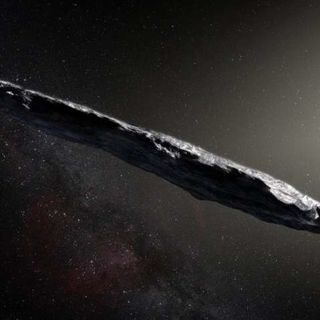 Cosmic visitor 'Oumuamua may have been ripped from an alien world