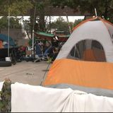 Homeless man tells story of forced eviction from downtown tent city