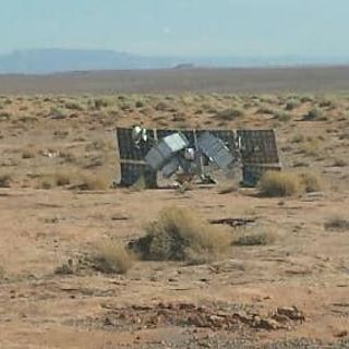 Was the mysterious object that fell from the sky onto the Navajo Nation from outer space? Or is there a more earthly explanation?