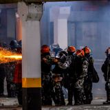Protests erupt in Brazil after supermarket security guards beat Black man to death