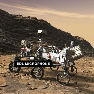 Hear Mars rover Perseverance whir as it cruises toward the Red Planet