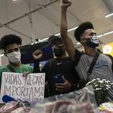 Killing of black man at supermarket sparks protests across Brazil