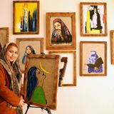 Young Afghan woman opens art gallery to create jobs in pandemic